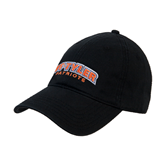 Black Twill Unstructured Low Profile Hat-UT Tyler Arched