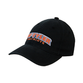 Black OttoFlex Unstructured Low Profile Hat-UT Tyler Arched