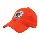 Orange Heavyweight Twill Pro Style Hat-UT Tyler w/ Eagle Head