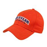 Orange Heavyweight Twill Pro Style Hat-UT Tyler Arched