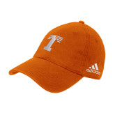 Adidas Orange Slouch Unstructured Low Profile Hat-Flag T