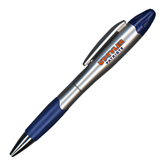 Silver/Blue Blossom Pen/Highlighter-UT Tyler Patriots