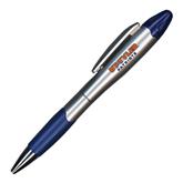 Silver/Blue Blossom Pen/Highlighter-UT Tyler Patriots