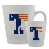 Full Color Latte Mug 12oz-Flag T