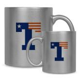 Full Color Silver Metallic Mug 11oz-Flag T