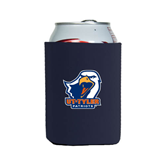 Collapsible Navy Can Holder-UT Tyler w/ Eagle Head