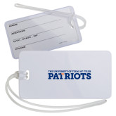 Luggage Tag-University of Tyler Texas Patriots Stacked