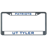 Metal License Plate Frame in Black-UT Tyler