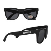 Black Sunglasses-University of Tyler Texas Patriots Stacked