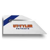 Angled Blue Stripe Letter Opener-UT Tyler Patriots