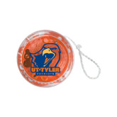 Light Up Orange Yo Yo-UT Tyler w/ Eagle Head
