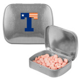 Silver Rectangular Peppermint Tin-Flag T