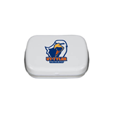 White Rectangular Peppermint Tin-UT Tyler w/ Eagle Head