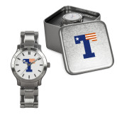 Mens Stainless Steel Fashion Watch-Flag T