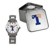 Ladies Stainless Steel Fashion Watch-Flag T