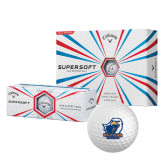 Callaway Supersoft Golf Balls 12/pkg-UT Tyler w/ Eagle Head