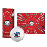 Callaway Chrome Soft Golf Balls 12/pkg-UT Tyler w/ Eagle Head