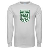 White Long Sleeve T Shirt-UVU Soccer