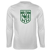 Performance White Longsleeve Shirt-UVU Soccer