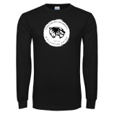 Black Long Sleeve T Shirt-Wolverine Pride