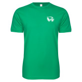 Next Level SoftStyle Kelly Green T Shirt-Primary Logo