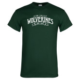 Dark Green T Shirt-Utah Valley Wolverines Est 1941