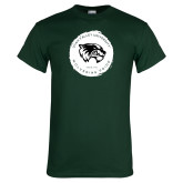 Dark Green T Shirt-Wolverine Pride