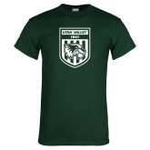 Dark Green T Shirt-UVU Soccer