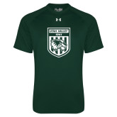 Under Armour Dark Green Tech Tee-UVU Soccer