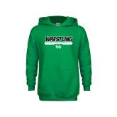 Youth Kelly Green Fleece Hoodie-UVU Wrestling