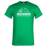 Kelly Green T Shirt-UVU Basketball