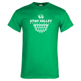 Kelly Green T Shirt-Wolverines Basketball