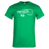 Kelly Green T Shirt-Wolverine Volleyball
