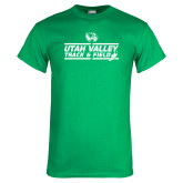 Kelly Green T Shirt-Wolverines Track & Field