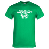 Kelly Green T Shirt-Secondary Logo