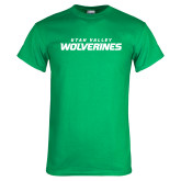Kelly Green T Shirt-Utah Valley Wolverines