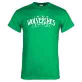 Kelly Green T Shirt-Utah Valley Wolverines Est 1941