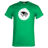 Kelly Green T Shirt-Wolverine Pride