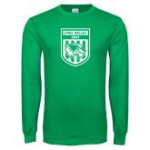 Kelly Green Long Sleeve T Shirt-UVU Soccer