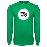 Kelly Green Long Sleeve T Shirt-Wolverine Pride