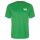 Performance Kelly Green Tee-Primary Logo