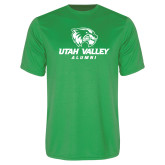 Performance Kelly Green Tee-Alumni