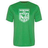 Performance Kelly Green Tee-UVU Soccer
