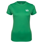 Ladies Syntrel Performance Kelly Green Tee-Primary Logo