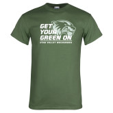Military Green T Shirt-Get Your Green On