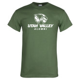 Military Green T Shirt-Alumni