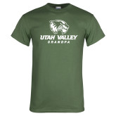 Military Green T Shirt-Grandpa