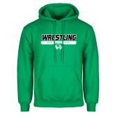 Kelly Green Fleece Hoodie-UVU Wrestling