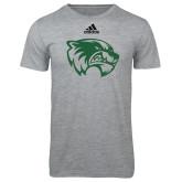 Adidas Sport Grey Logo T Shirt-Primary Logo
