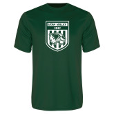 Performance Dark Green Tee-UVU Soccer